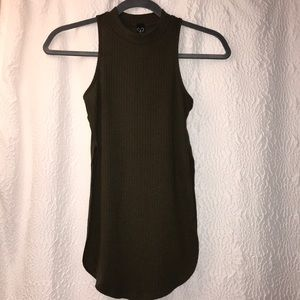 Windsor Olive Tunic Tank Top